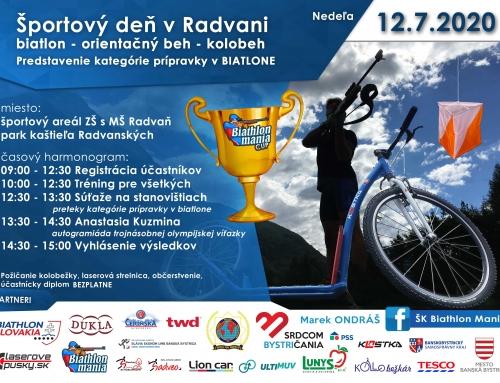 Športový deň v Radvani
